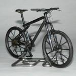 Модель велосипеда GT из проволоки